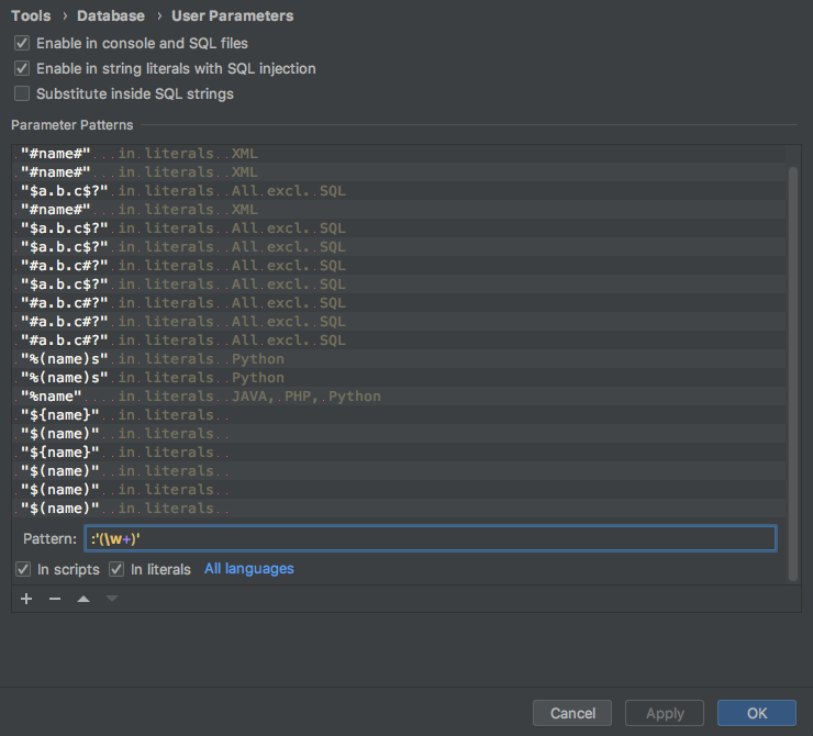 /images/pycharm/add-psql-var-to-user-params-for-db-console/user-parameters.png
